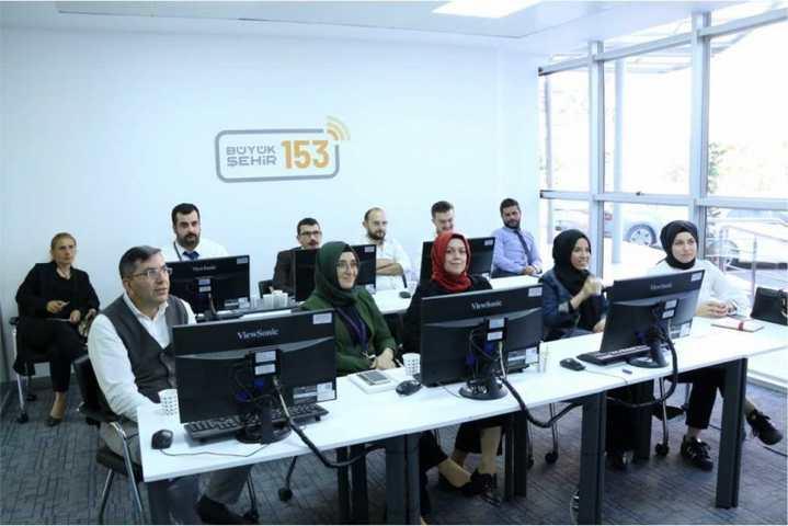 153'ten BAŞTİM'e iletişim eğitimi