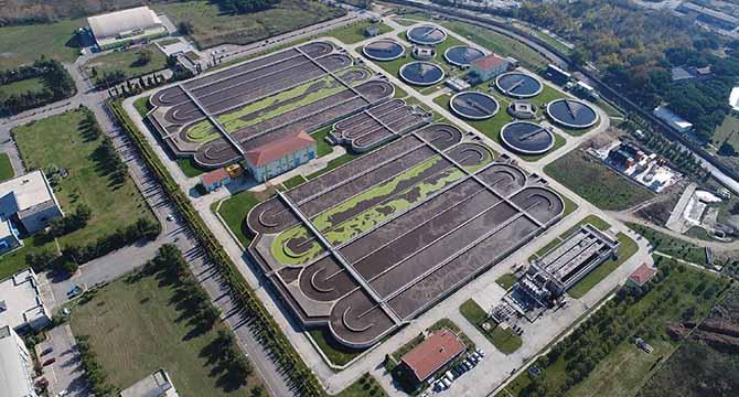 159,1 milyon m3 atık su arıtıldı