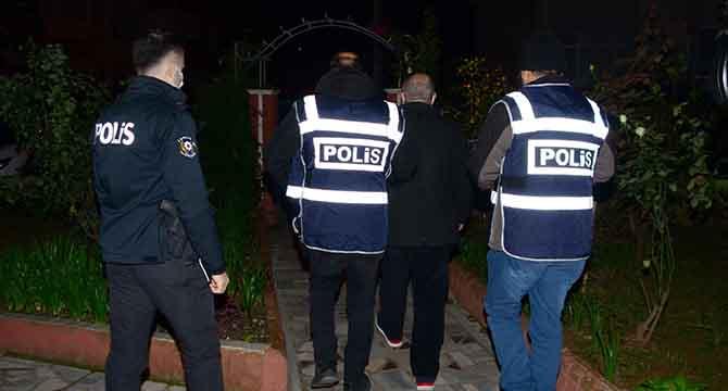 18 kişi yakalandı
