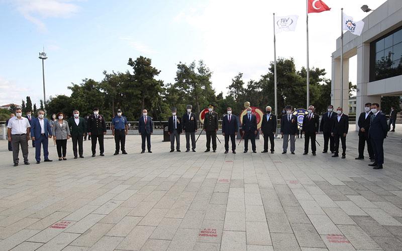 19 Eylül Gaziler Günü Gebze'de Kutlandı