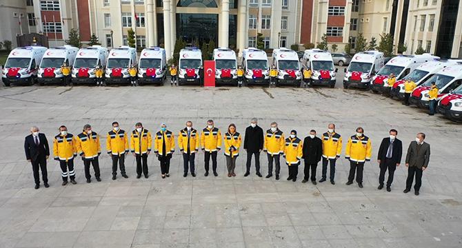 30 Yeni Ambulans