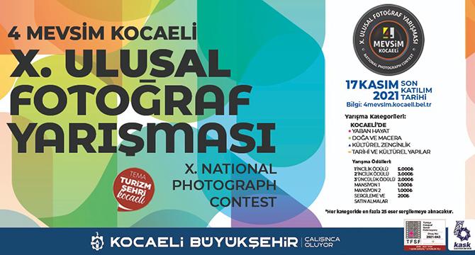 4 Mevsim Kocaeli 10. Ulusal Fotoğraf Yarışması başlıyor