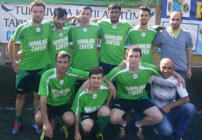 Kulüpler Birliği Kalesini Gole kapattı 5-0