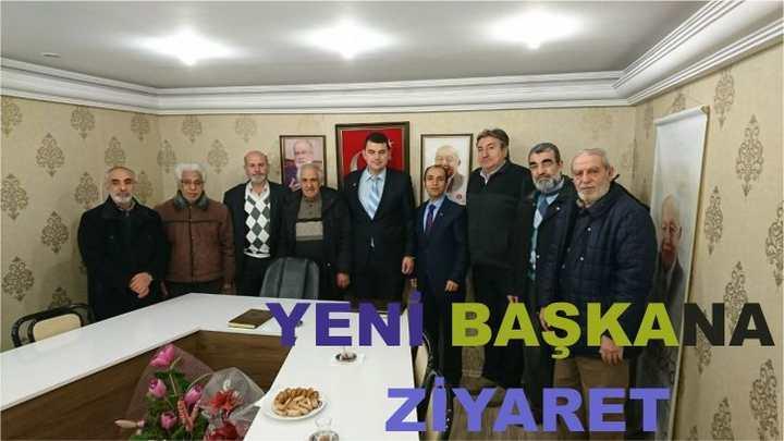 Karamürsel Bakır Madenliler Derneği, Saadet Partisi İlçe Başkanlığına ziyarette bulundu.