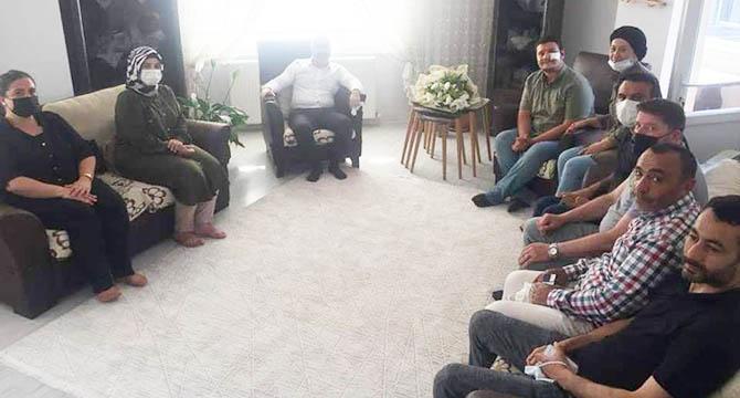 Acay İHA muhabiri Uslu'ya ziyarette bulundu!