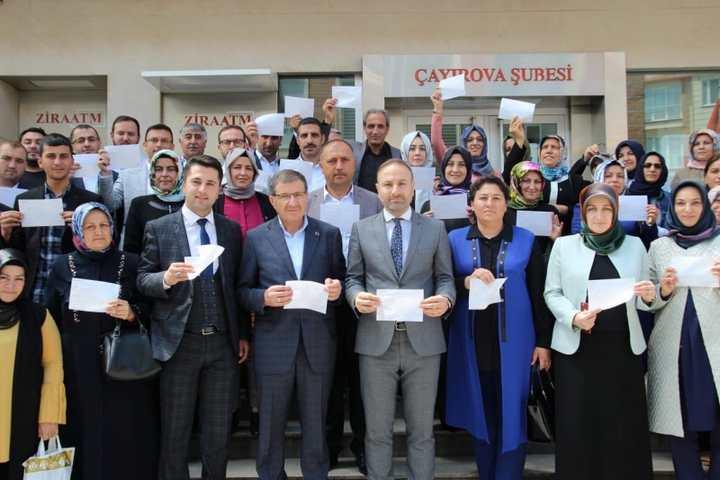 AK Çayırova'dan Erdoğan'a Destek