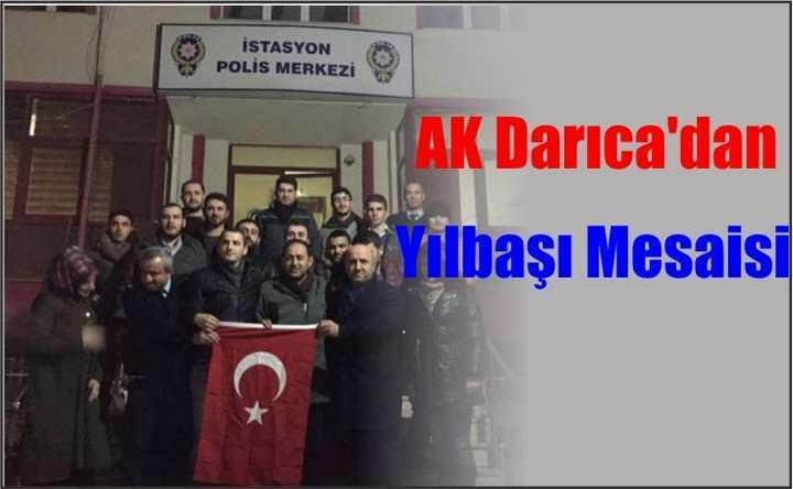 AK Darıca'dan Yılbaşı Mesaisi
