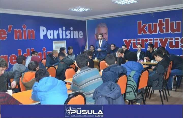 """AK GENÇLER """"HAMLE SIRASI SENDE"""" DEDİ!"""
