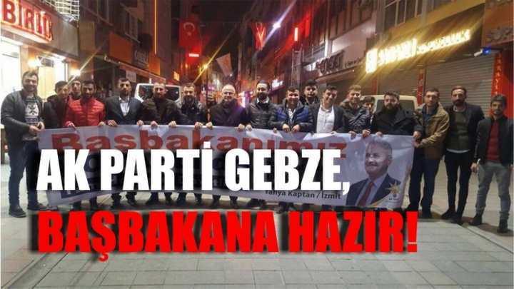 AK Parti Gebze, başbakana hazır!