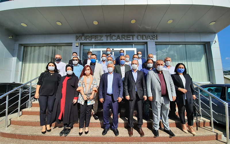 AK Parti İlçe Teşkilatından KTO'ya ziyaret