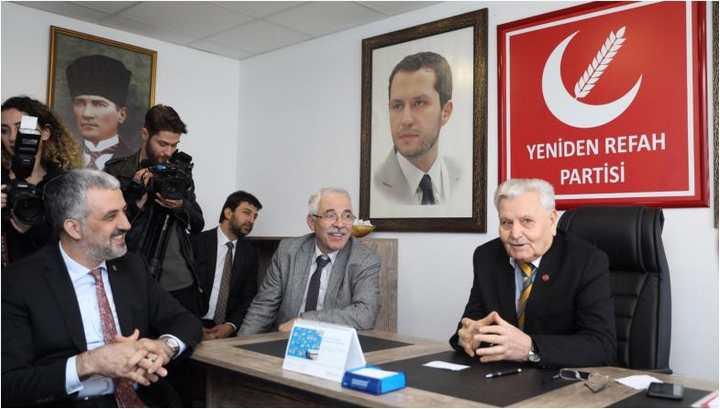 AK Parti'den Yeniden Refah'a ziyaret