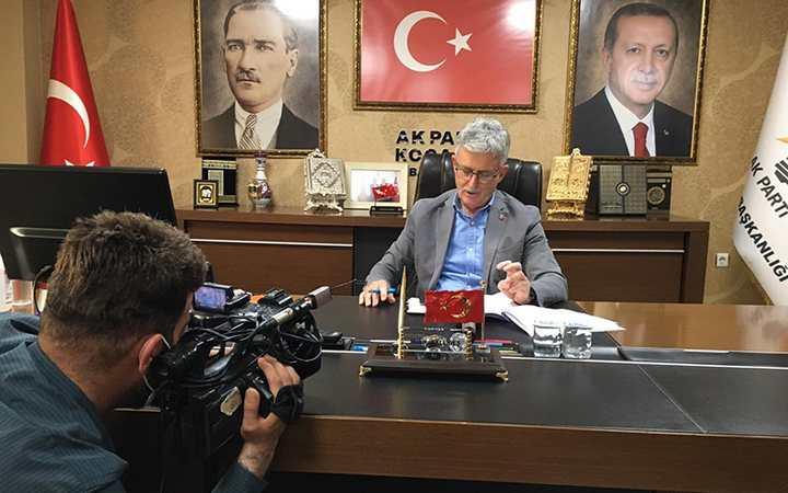 AK Parti'ye üye başvurusuna yoğun ilgi
