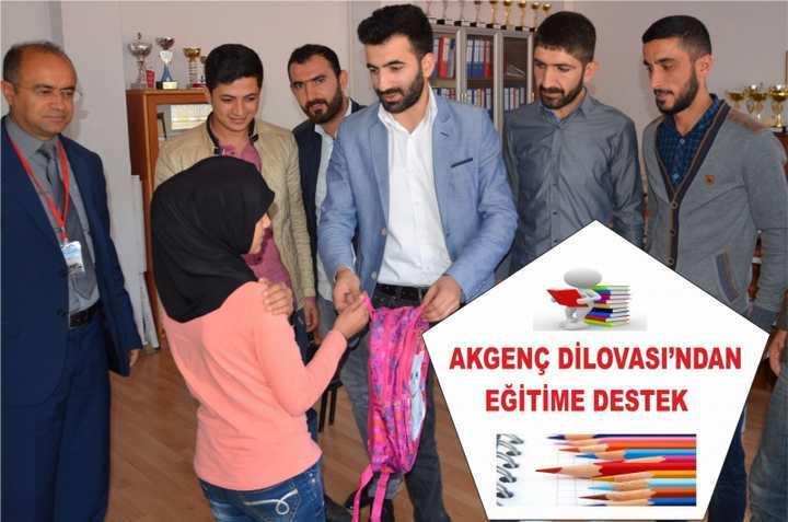 AKGENÇ DİLOVASI'NDAN EĞİTİME DESTEK