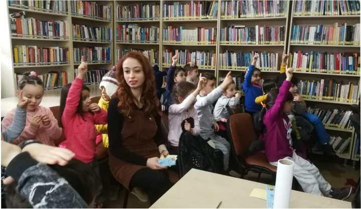 Anasınıfı öğrencilerinden ziyaret