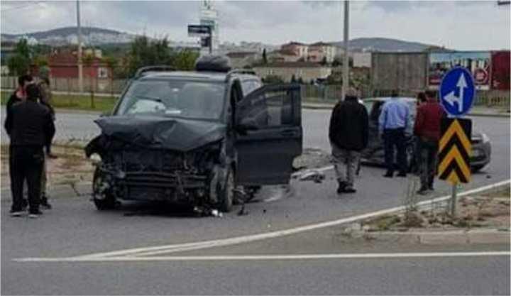 Aşırı Hız Kaza İle Sonuçlandı