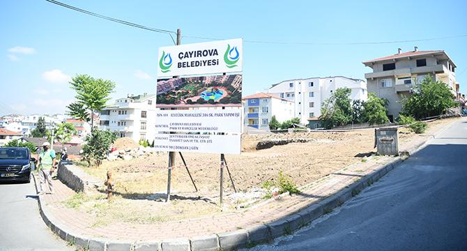 Atatürk Mahallesi'ne yeni park