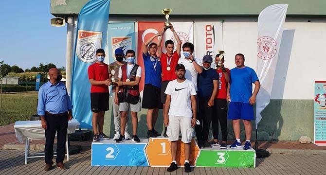 Atıcılar, Türkiye şampiyonasından başarılar ile döndü