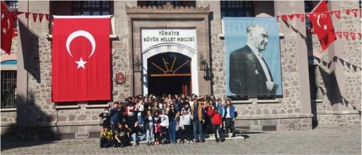 Atlas okulundan Anıtkabir'e ziyaret