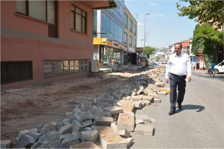 Bağdat Caddesi ikinci etap çalışması başladı