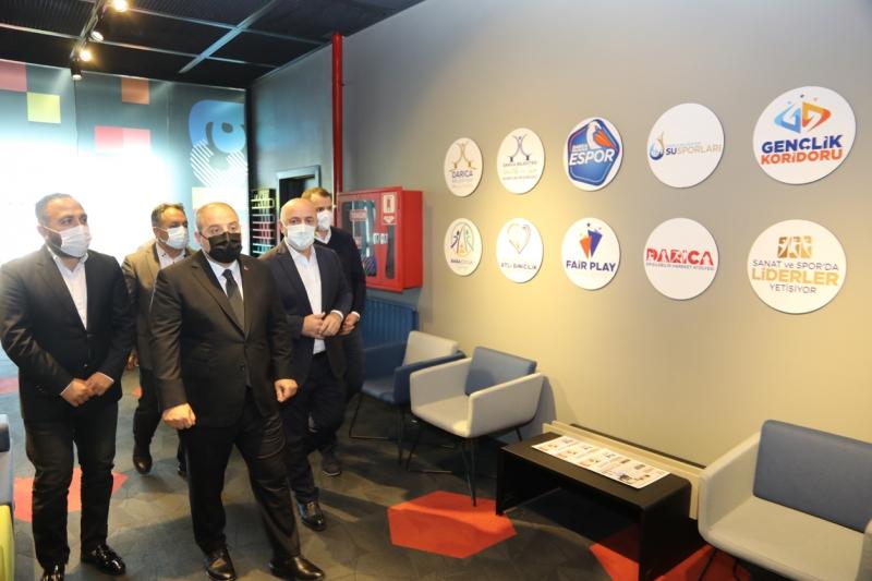 Başkan Bıyık, Bakan Varank'a çalışmaları anlattı