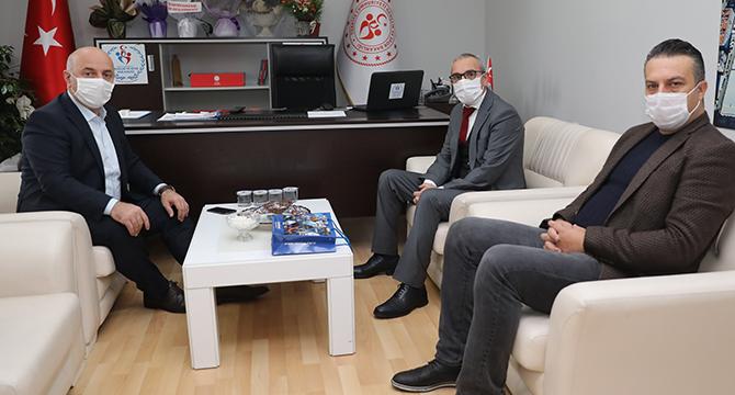 Başkan Bıyık'tan Tatoğlu ve Kadıoğlu'na ziyaret