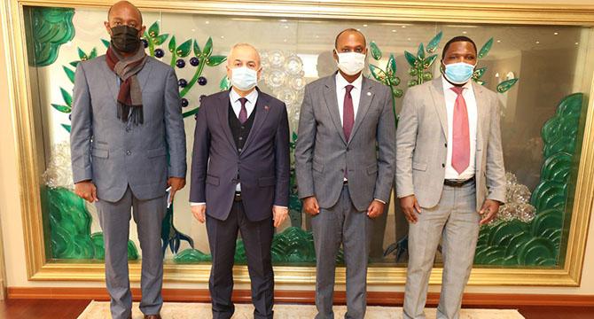 Başkan Büyükgöz'e Ruanda'dan heyet