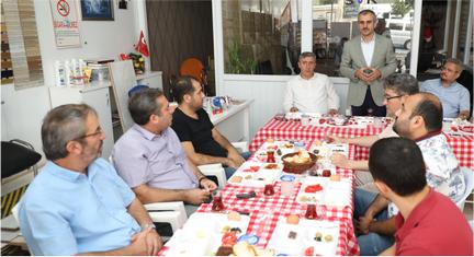 Başkan Çiftçi esnafların Ahilik Haftası'nı kutladı
