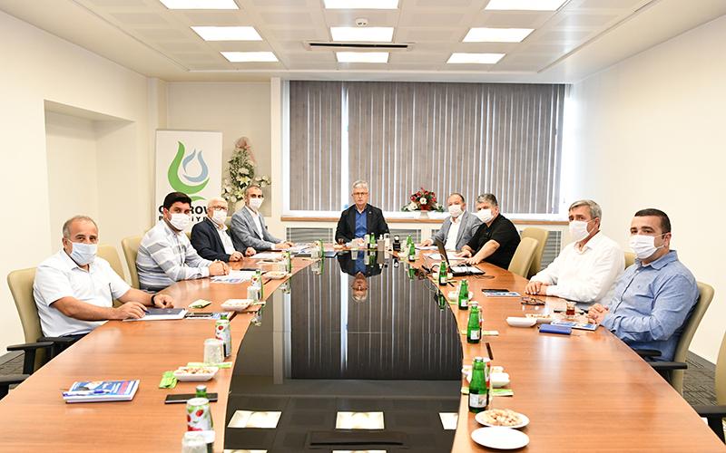 Başkan Çiftçi, İl Başkanı Ellibeş'e Çalışmaları Anlattı