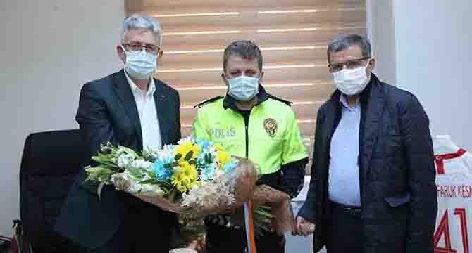 Başkan Ellibeş'in Fethi Sekin hassasiyeti