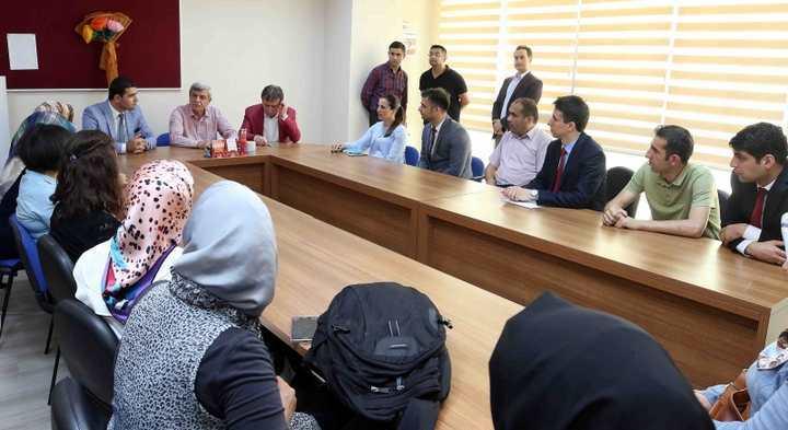"""Başkan Karaosmanoğlu, """"Gezin, okuyun ve doğayı tanıyın"""""""