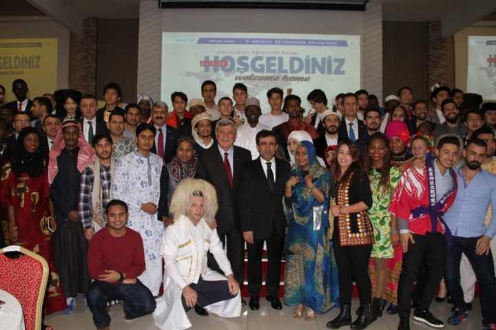 Başkan Karaosmanoğlu, uluslararası öğrencilere seslendi;