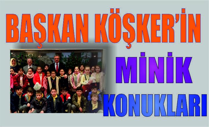 Başkan Köşker'in Minik Konukları
