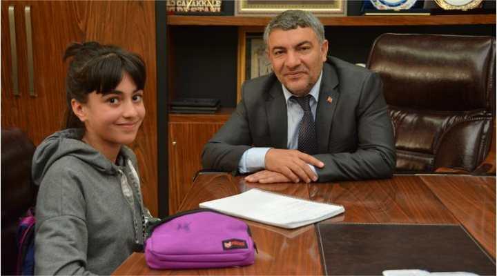 Başkan Şayir'den İlk Röportaj