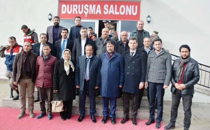 Başkan Toltar, Meclis Üyeleri Birlikte İhanet Davasını İzledi!