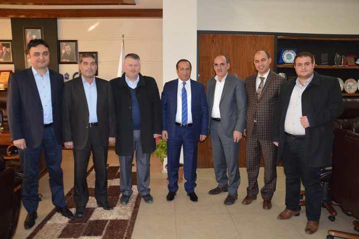 Başkan Toltar Servisçiler Deneğini Ağırladı