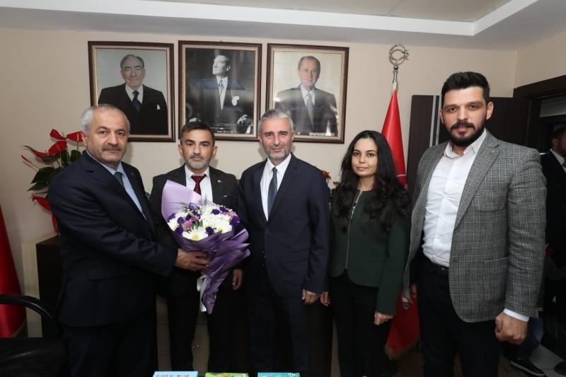 Başkanlardan MHP'ye İade-i Ziyaret