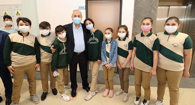 Başkanlardan okul ziyaretleri