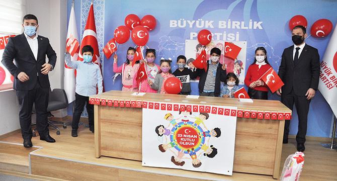 BBP 23 Nisan'ı çocuklarla coşkulu şekilde kutladı