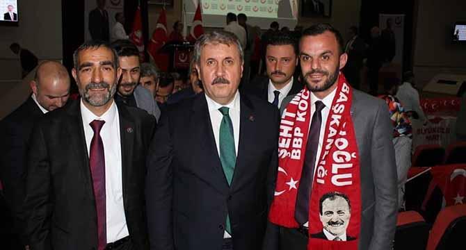 BBP BAŞKANI DESTİCİ KOCAELİ'YE GELİYOR