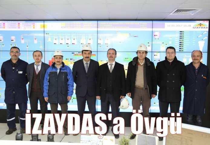 Belediyeler Birliği'nden İZAYDAŞ'a övgü