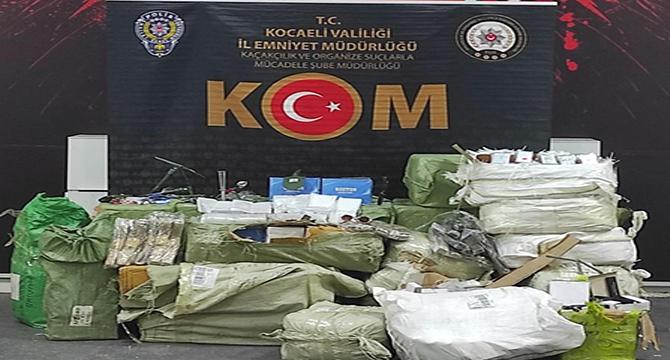 Binlerce kaçak ürün ele geçirildi