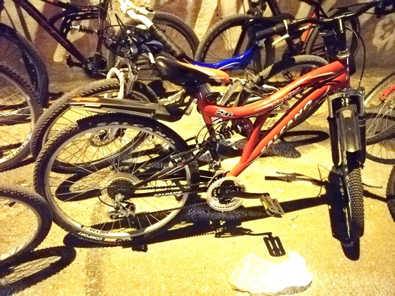 Bisiklet hırsızı Darıca'da yakalandı