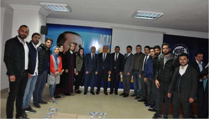 Bıyık, İlk Ziyaretini AK Parti'ye Yaptı