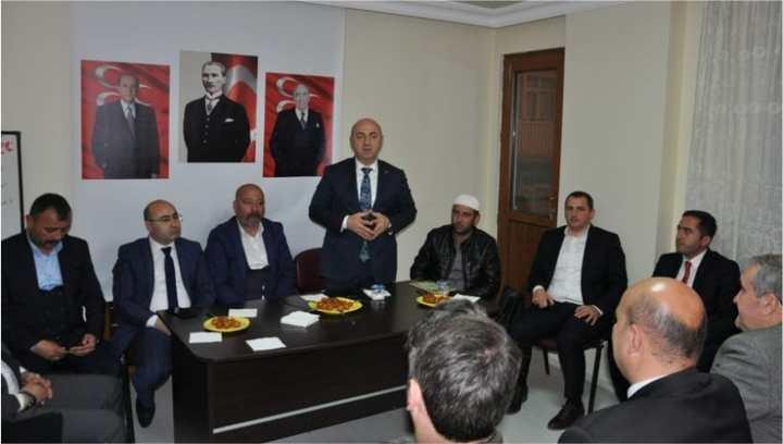 Bıyık'tan MHP'ye Teşekkür Ziyareti