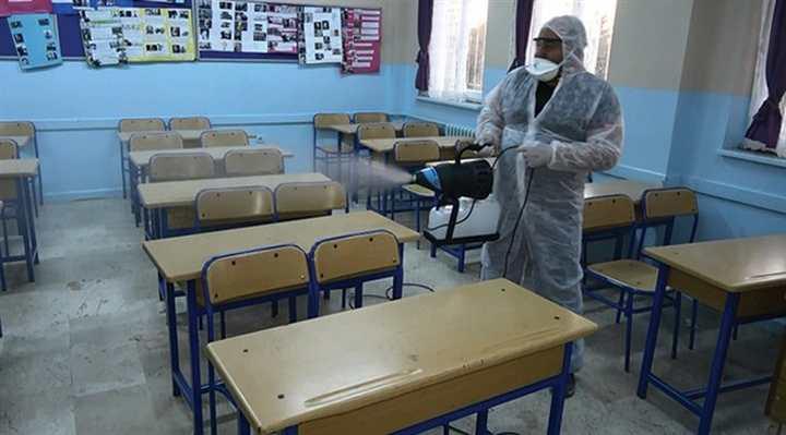 Bölgemizdeki okullarda virüs tespit edildi
