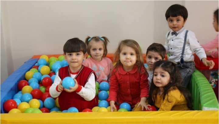 Bu yıl Çocuk Oyun Odaları'ndan 1382 çocuk yararlandı