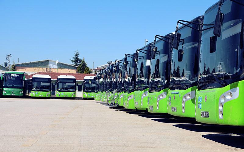 Büyükşehir otobüsleri bir ayda 2 milyon kilometre yol kat etti