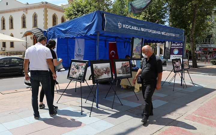 Büyükşehir'den deprem standı