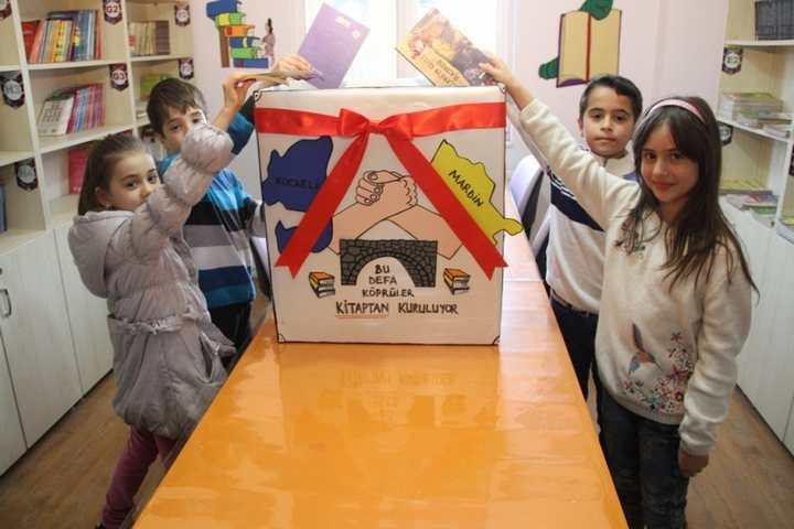 Büyükşehir'den Mardin'e kitap kardeşliği