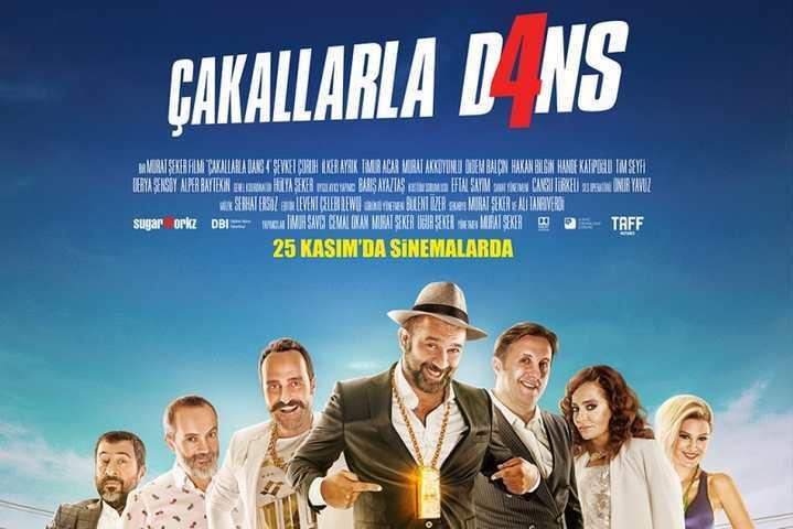 """ÇAKALLARLA DANS 4"""" GİŞEYE EL KOYDU!"""